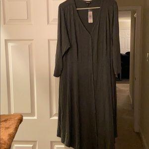 Torrid jersey button dress